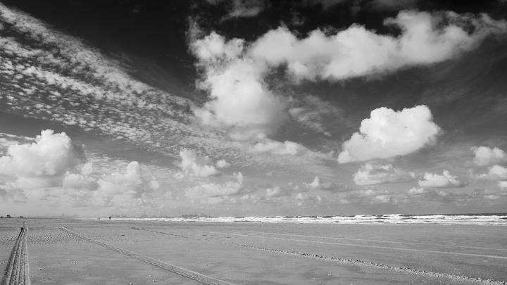 North Sea shore near The Hague