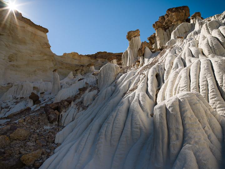 White Hoodoos in Vermillion Cliffs National Monument